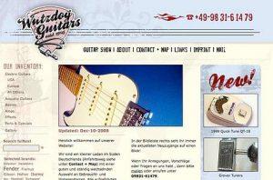 Beispiel für Webdesign